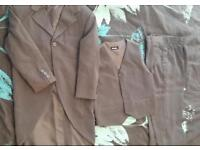 3 piece 2/3 year old used suit grey