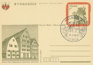 Poland postmark - advertising, castle MALBORK - <span itemprop=availableAtOrFrom>Bystra Slaska, Polska</span> - Poland postmark - advertising, castle MALBORK - Bystra Slaska, Polska