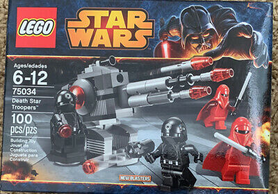 LEGO Star Wars 75034 Death Star Troopers Battle New Sealed Retired FREE S/P USA