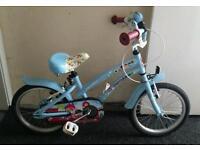 "Girls Apollo Cherry Lane bike 16"" Suit age 5-8"