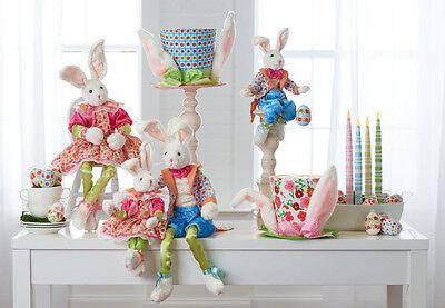 Spring Bunny - Spring Bunny Rabbit in Bright Costume 18in rzsp 3702042 NEW RAZ boy|girl design