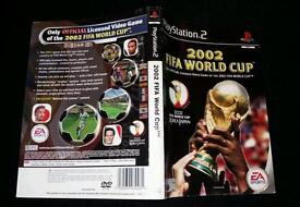 PS2 playstation 2 game cover - 2002 Fifa World Cup- GC