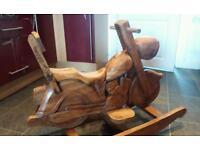 Rocking horse / Wooden rocker