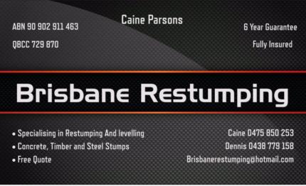 Brisbane Restumping