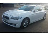 12 REG BMW 5 SERIES SE TOURING CAR 3.0 WHITE 5DR STOPSTART MUST SEE CAR