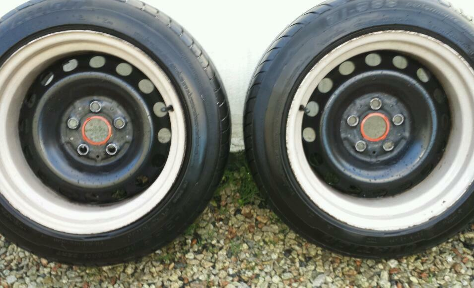 Vw Transporter T4 Banded Wheels Steels 5x112 Audi Mercedes