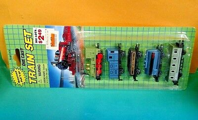 Brand New Sealed Motorized Pull N Go Die Cast Train Set Big Lots Rare  35050