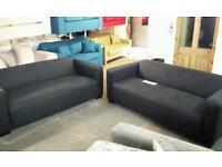 Rrp £1000 x2 3seater pocket sprung sofas good savings only £285