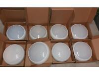 ROUND WHITE 28WATT 2D LIGHT FITTINGS, PENDANT, LAMP, BULB, CHANDELIERS