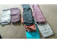Bundle of boys jeans and hoodies , shorts, aged 12, waist 26, 28. Skinny for.