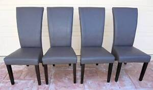 4x Grey Montego Dining Chairs Rothwell Redcliffe Area Preview