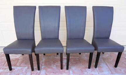 4x Grey Montego Dining Chairs