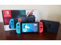 Nintendo Switch Console (Neon) - In Original Box - £239