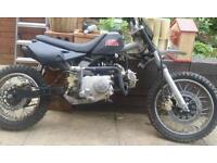 Loncin 100cc manual pit bike
