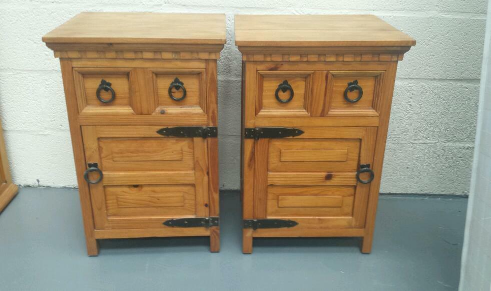 Solid Pine Bedside Lockers In Ballymoney County Antrim