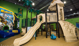 Large Indoor Playground for sale in Toronto. Super Price
