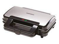 Daewoo SDA1389 900W Deep Fill 4 Slice Kitchen Sandwich Maker-Cool Touch Handles-Safety