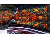 Shirt and shawl