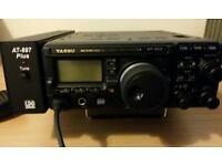 Yaesu FT -897D HF /VHF / UHF all mode transceiver and extras