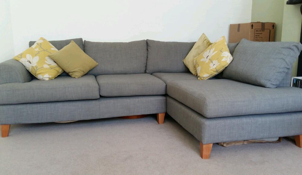 Grey Corner Sofa Dfs Brokeasshome Com