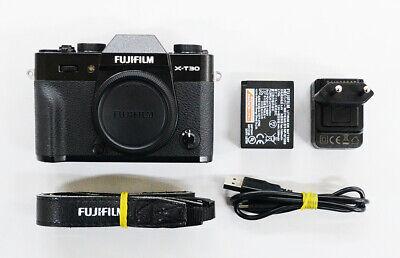 """# Fujifilm X-T30 26.1 MP Digital SLR Camera - Black """"2 cut"""" S/N 07398"""