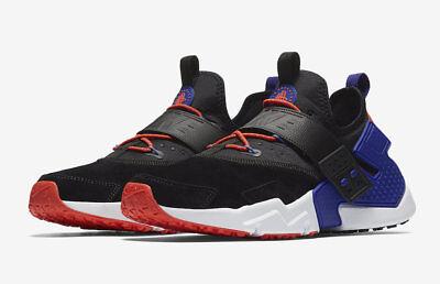 Nike Air Huarache Drift Prm Black Violet Orange Nib Free Shipping Size 10