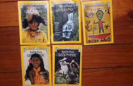 National Geographic 70s to 80s