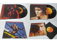 4 x Adam and the Ants 7inch; Singles. 80's Pop Music Vinyl Singles