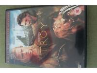 Troy, starring brad pitt. DVD