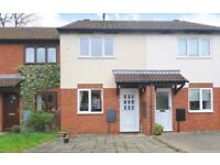 2 bedroom house which includes, a garage, private garden and conservatory in a quiet village