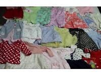 Baby girls bundle 3-6
