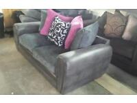Marakesh 3 seater sofa with scatter chusions new ex display rrp £499