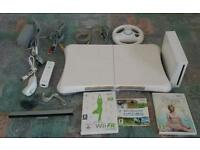 Nintendo Wii Console & Additional Accessories - Good working condition