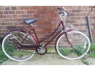 Raleigh cameo ladies Dutch town bike bicycle