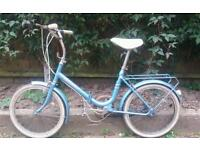 Vintage Hercules Compact folding bike - free delivery
