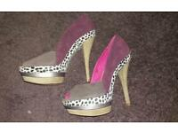 Ladystar heels size 5