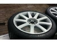 Audi/vw alloy wheels