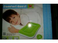 Bestways inflatable childrens bed. With removable mattress