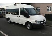 Ford transit 12 seater minibus