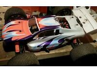 Xtm rc/radio controlled nitro car swap reduced to 200 from 250