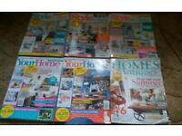 Home Mags £2 each or £5 the lot