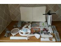 Nintendo Wii Console & Additional Accessories - Works fine