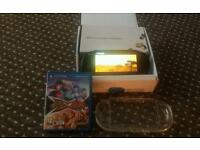 Psvita with game and cover and original box