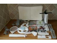 Nintendo Wii with Console, Games and much more