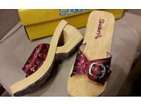 Skechers Cali wedge sandals BNIB size 6