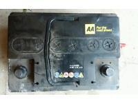 AA Car battery 50 amp hour