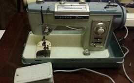 JONES DELUXE SEWING MACHINE