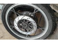 Suzuki gs 650 front wheel