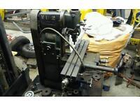 Centec 2B vertical and horizontal milling machine