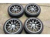 """Toyota vw vauxhall honda 4x100 alloy wheels 16"""""""